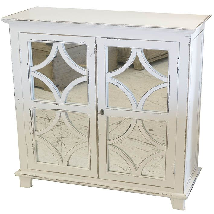 White ornate cabinet - Susie