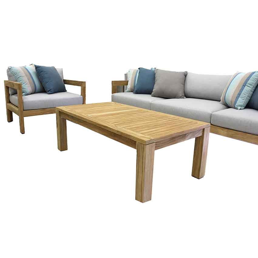Cove Teak Outdoor Lounge Collection