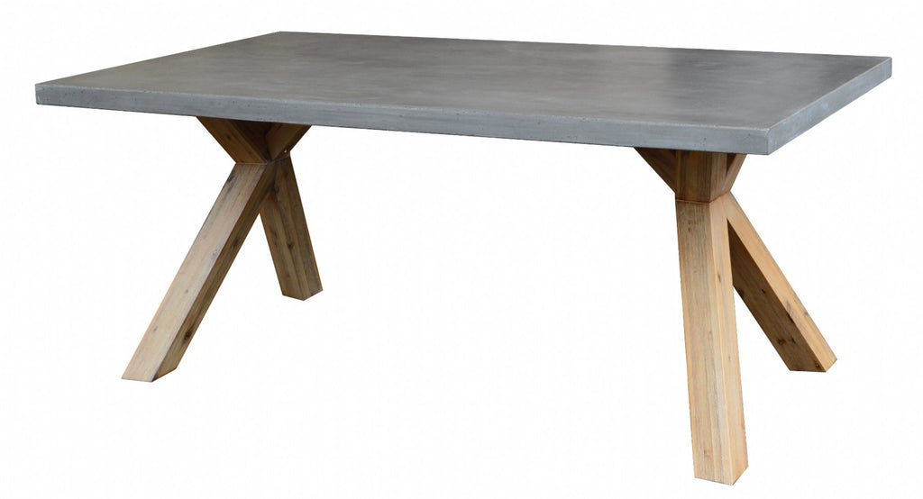 Elements Concrete Dining Table -  Boxed Edge ON SALE !