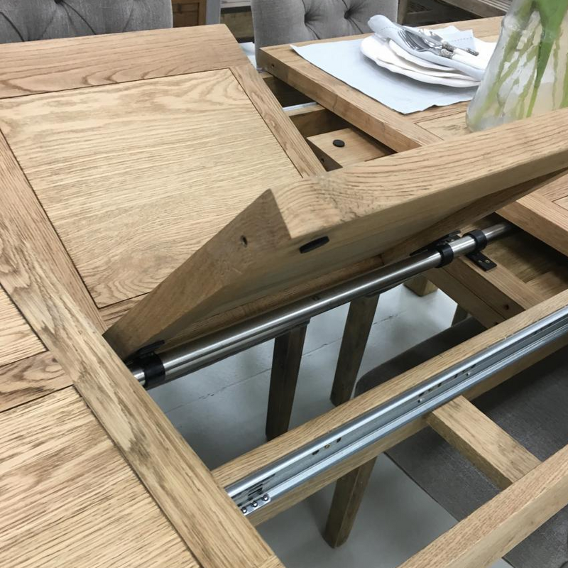 Francis American Oak Extension Dining Table