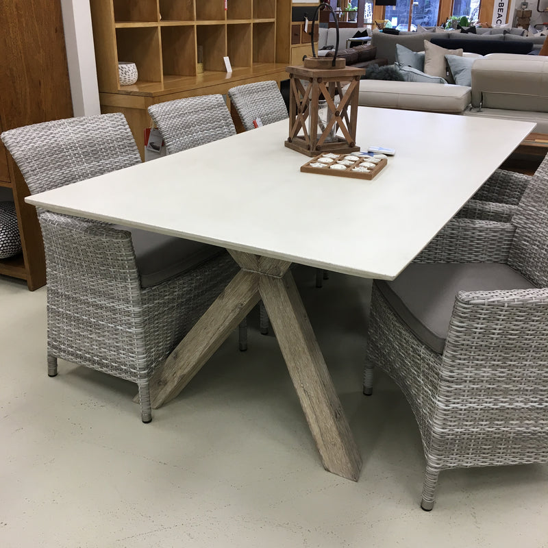 Elements Concrete Dining Table - NEW Beveled Edge! ON SALE !
