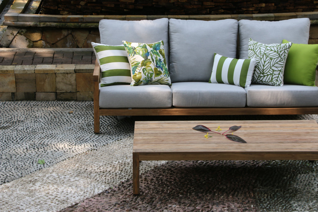 Block Outdoor Sofas - Teak