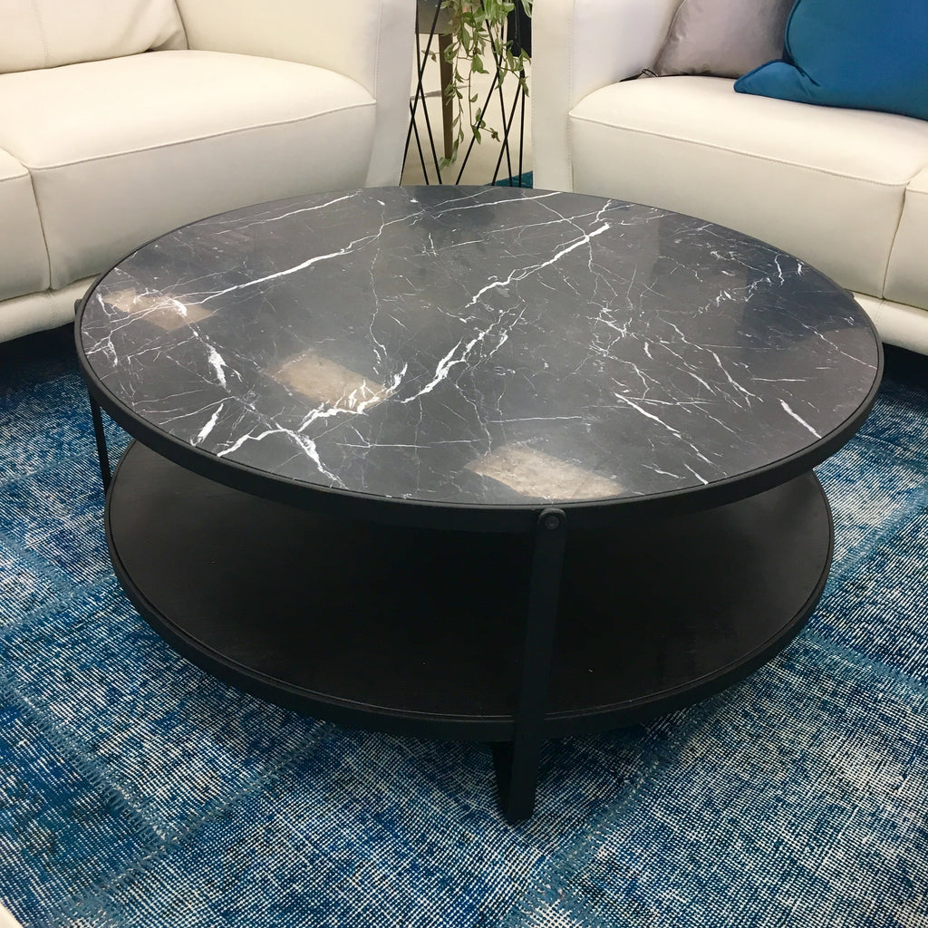 Sketch Oxygen Marble Top (black) coffee table
