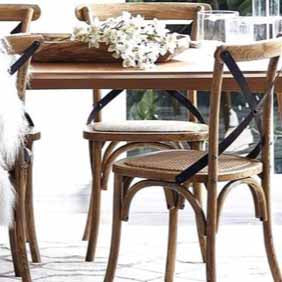 Cafe Oak Dining Chair - Natural