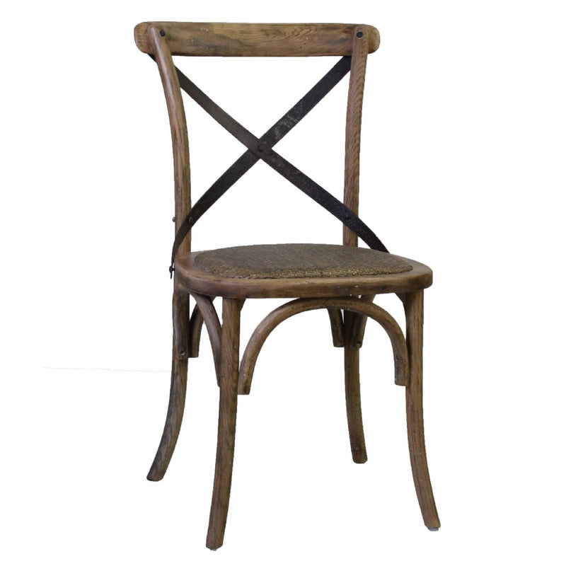 Cafe Oak Dining Chair - White Wash