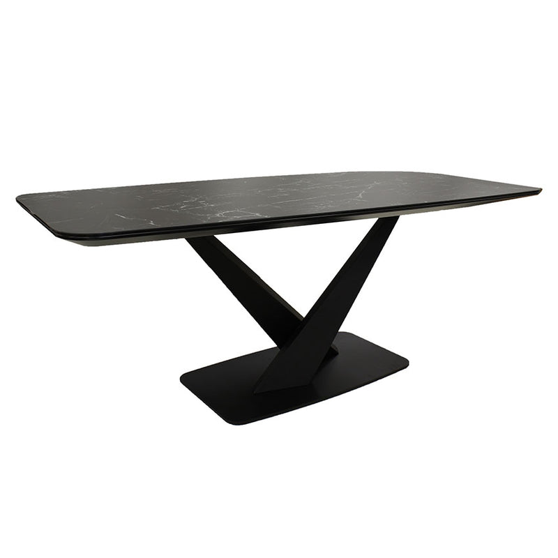 Maurice Dining table - 150cm 316 Stainless Steel