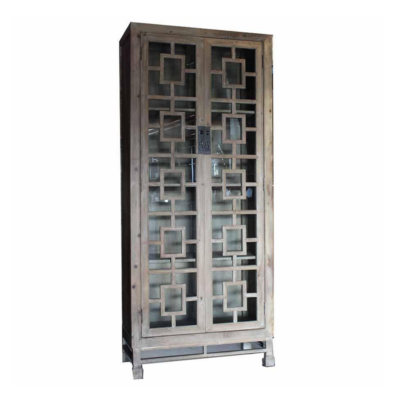 Ornate Tall Cabinet - 804