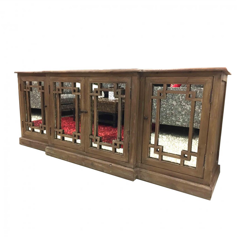 Ornate Mirrored Sideboard
