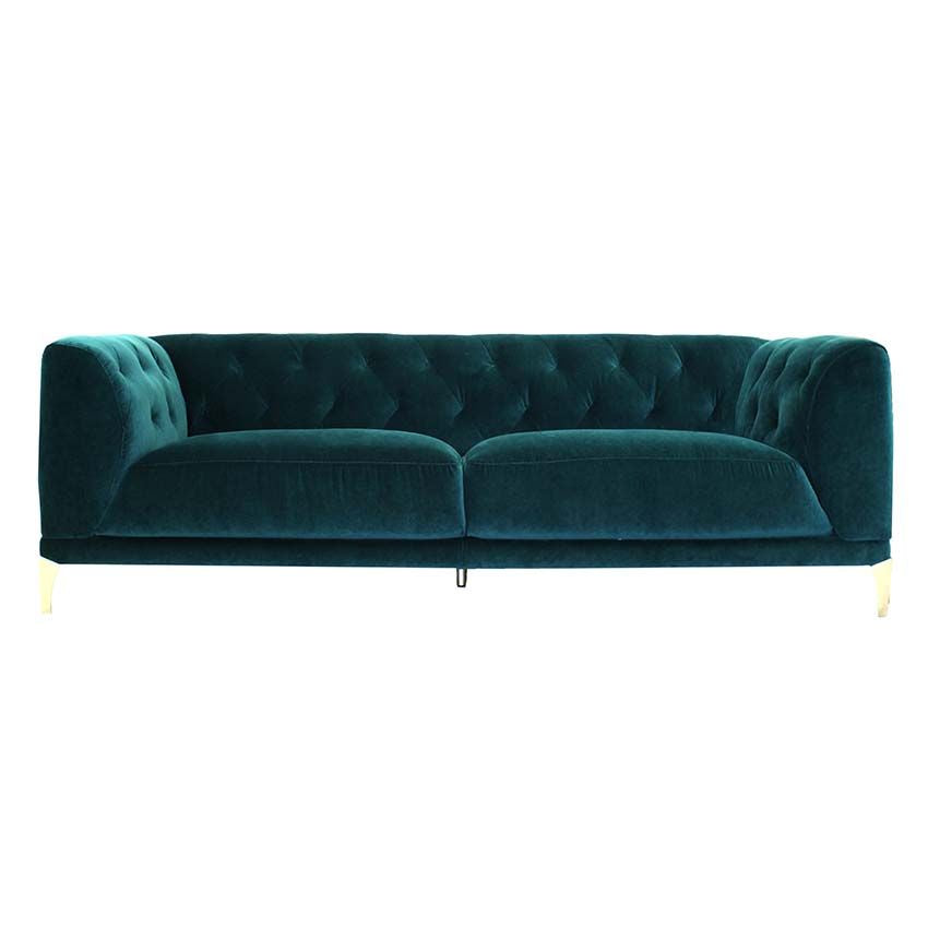 Sasha luxurious velvet sofa - ON SALE - FLOOR MODELS ONLY