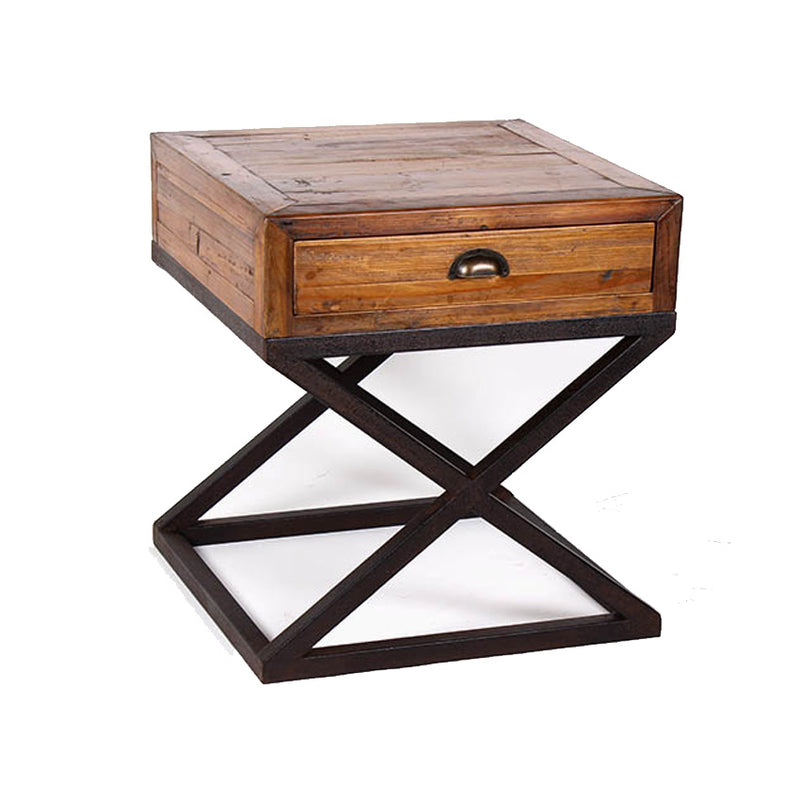 X Base side table