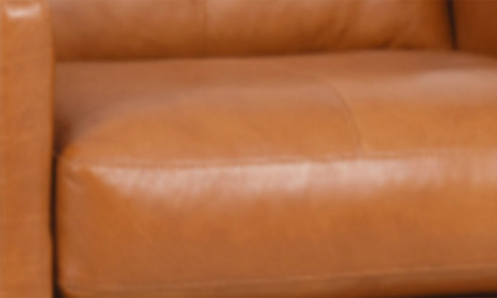 Phoebe Swivel Occasional Leather Chair