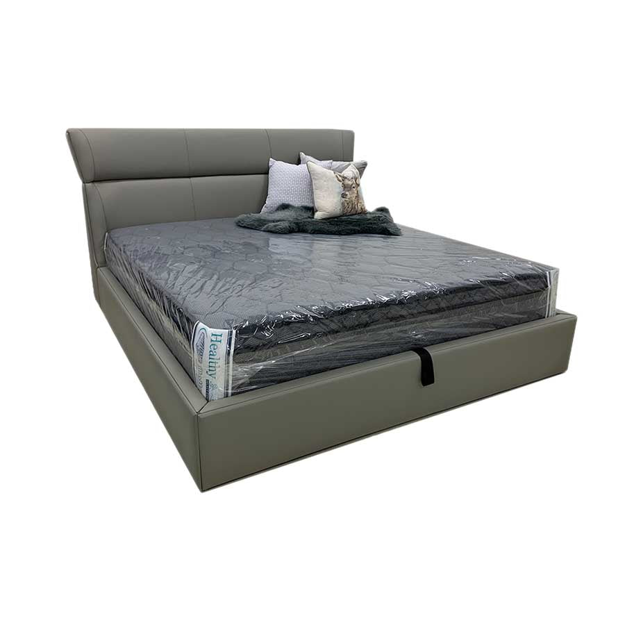 Windsor Slat Bed  - Leather