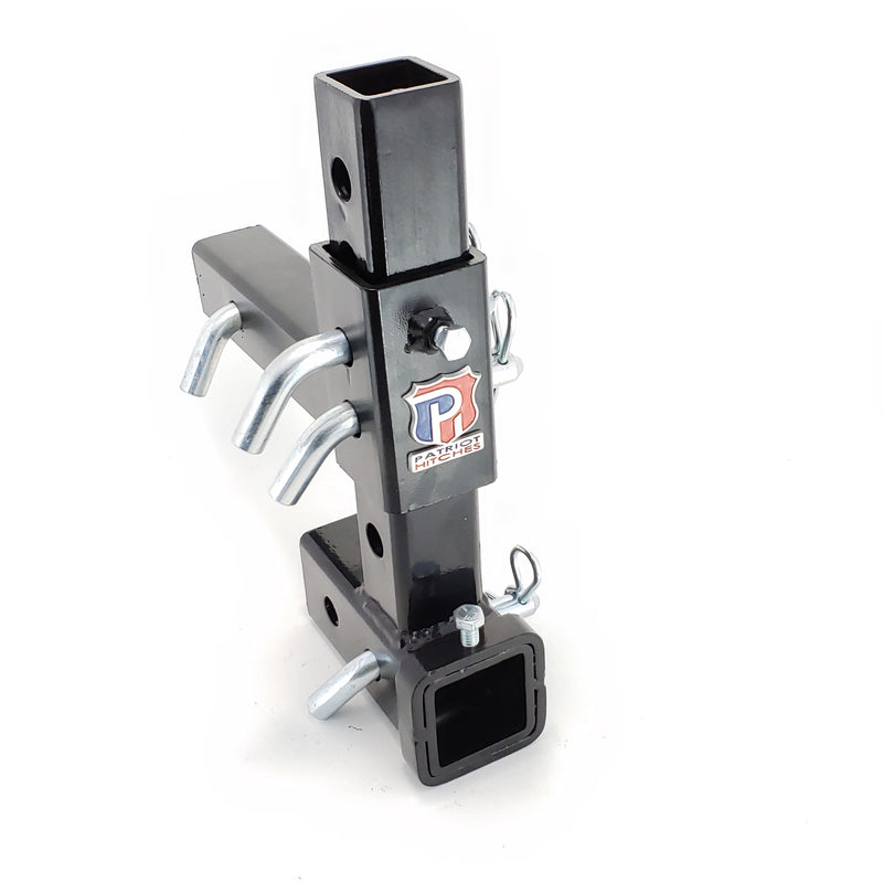 """The Pull-Pin"" By Patriot Hitches, LLC - Specifications - Silver-Red-Black"