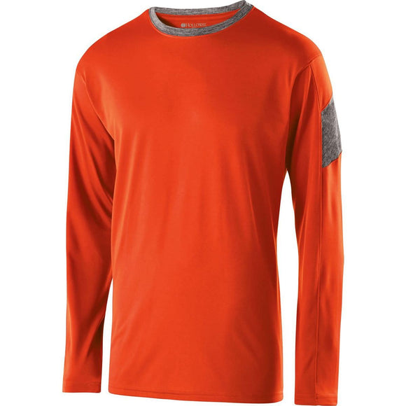 222627 - Holloway Youth Electron Long Sleeve Shirt