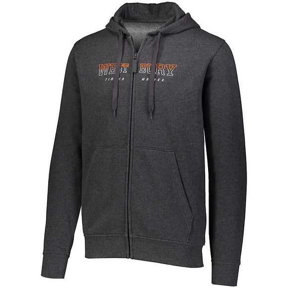 5418 - Augusta 60/40 Fleece Full Zip Hoodie
