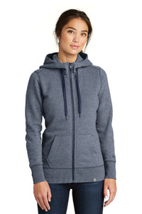 LNEA502 - Ladies New Era French Terry Full-Zip Hoodie