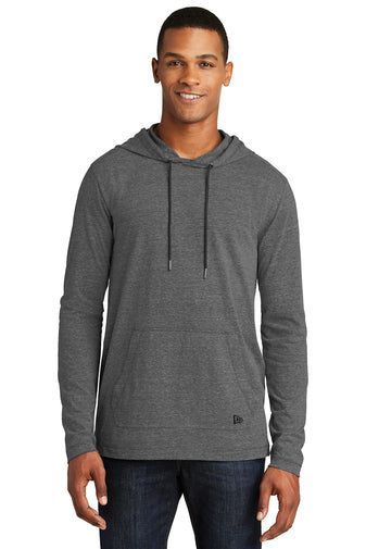 NEA131 - New Era Tri Blend Performance Pullover Hoodie Tee