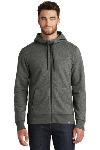 NEA502 - New Era French Terry Fell-Zip Hoodie