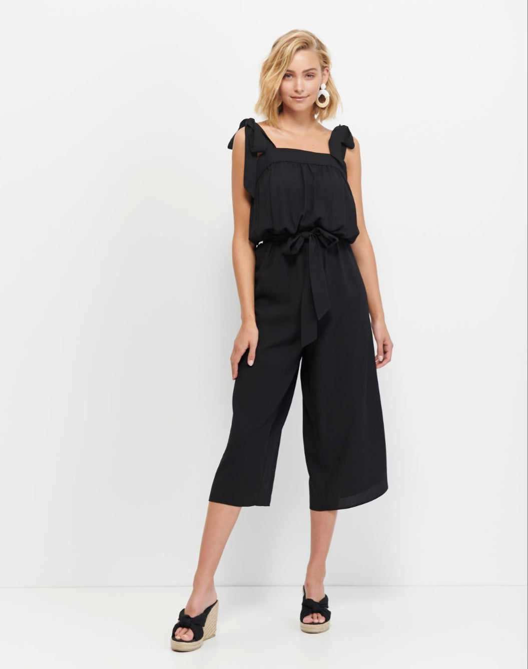 MARNIE TIE UP JUMPSUIT