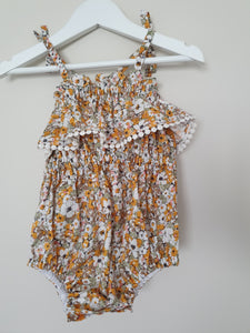 PENELOPE COTTON PLAYSUIT
