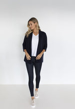 Load image into Gallery viewer, FRANKIE OVERSIZED CARDI - NAVY