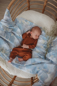 EVENTIDE ORGANIC MUSLIN WRAP - MISS KYREE LOVES