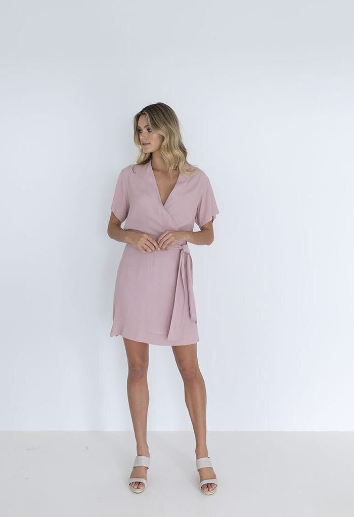 FRENCHIE DRESS - BLUSH