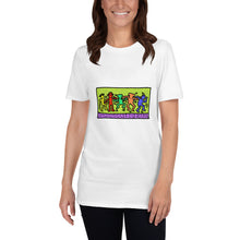 Load image into Gallery viewer, Dancing Hasidim à la Keith Haring Unisex T-Shirt