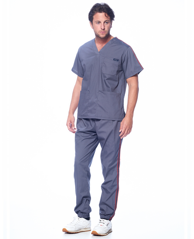 UNISEX ATHLETIC TRIM JOGGER SET