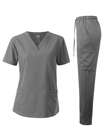 UNISEX 4-WAY STRETCH MEDICAL UNIFORM SET