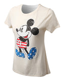 DISNEY MICKEY MOUSE T-SHIRT OFF-WHITE