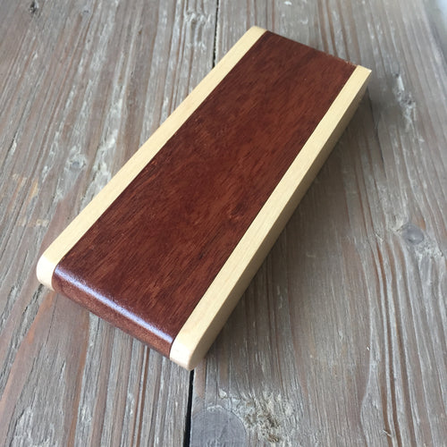 Wooden Pen Box - Flip Open