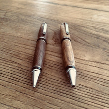 Load image into Gallery viewer, handmade wooden pen and pencil set