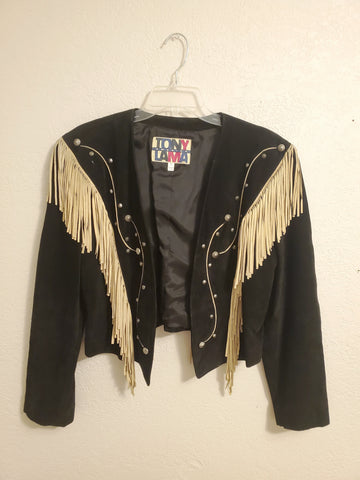 TONY LAMA Fringed Jacket