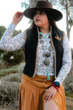 Big Concho Necklace Set