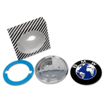 Blue Earth BMW Emblem Package Contents