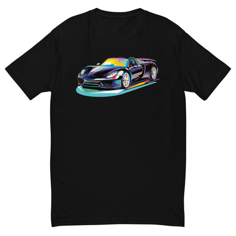 Pop Art Sports Car - Men's T-Shirt
