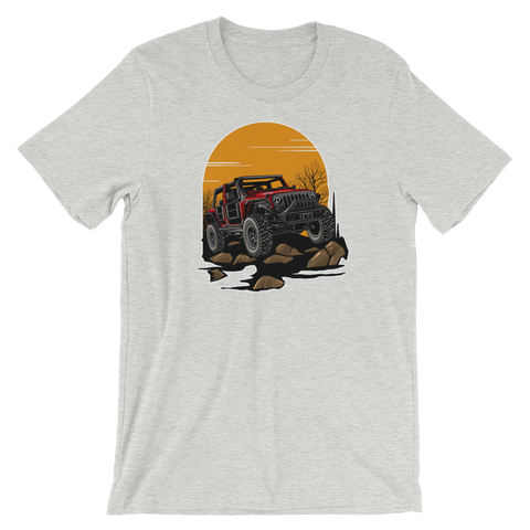 Jeep Rock Climb - Women's T-Shirt