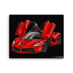LaFerrari - Canvas Print