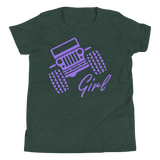 Jeep Girl - Youth T-Shirt