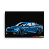Charger - Canvas Print