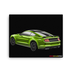 Mustang GT 500 - Canvas Print