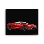 Corvette C8 - Canvas Print