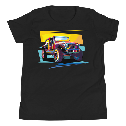 Jeep Art - Youth T-Shirt