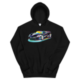 Pop Art Sports Car - Hoodie