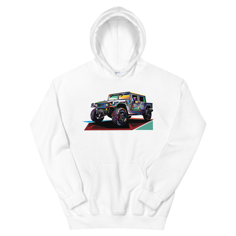 Pop Art Military Vehicle - Hoodie