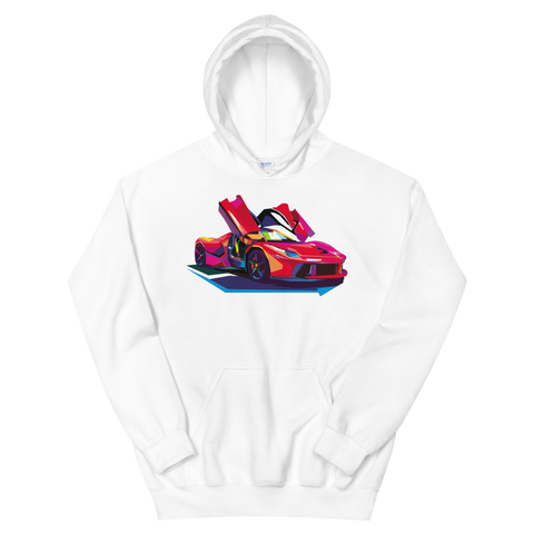 Pop Art Exotic Car - Hoodie