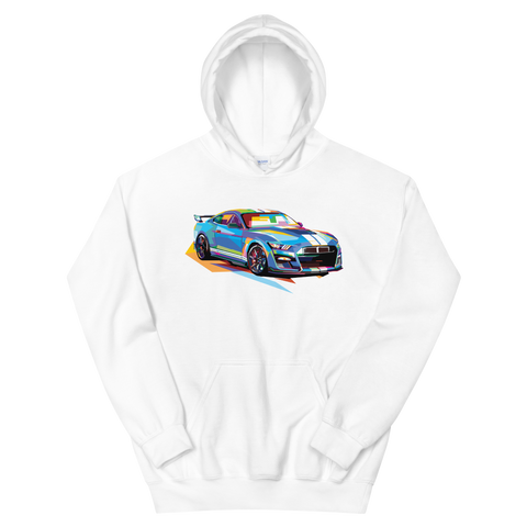 Pop Art Muscle Car - Hoodie