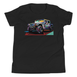 Pop Art Military Vehicle - Youth T-Shirt