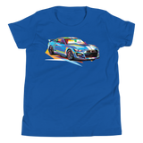 Pop Art Muscle Car - Youth T-Shirt